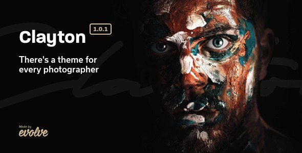 Clayton, an Elegant Theme for Photographers        TFx Triston Shanon
