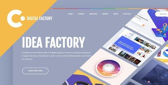 Coddle | Digital Factory Joomla Template        TFx Cuauhtémoc Abdullah
