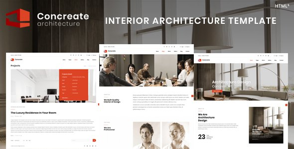 Concreate | Interior Architecture Template        TFx Spencer Jay