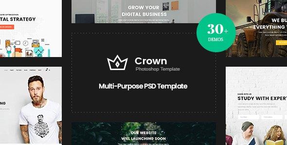 Crown | Multi-Purpose PSD Template        TFx Willka Jools