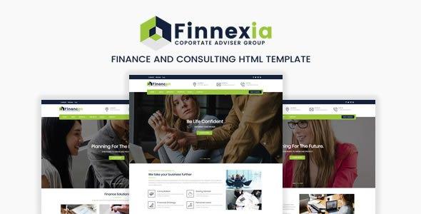 Finnexia - Responsive Finance & Consulting HTML template        TFx Amery Corbin