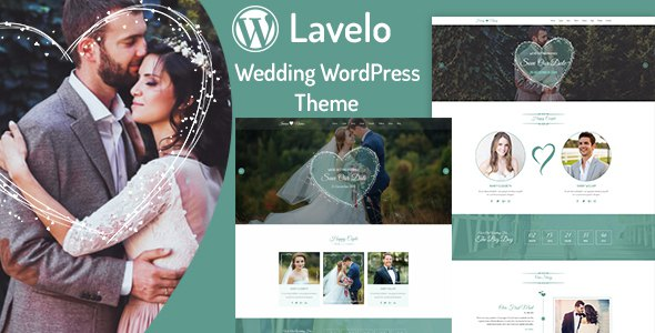 Lavelo - Wedding WordPress Theme        TFx Harlan Zackery