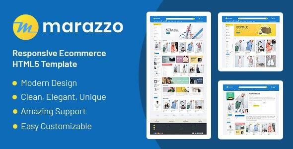 Marazzo - Responsive Ecommerce HTML5 Template      TFx Radcliff Wibawa