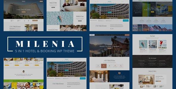 Milenia - Hotel & Booking WordPress Theme        TFx Colin Jayden
