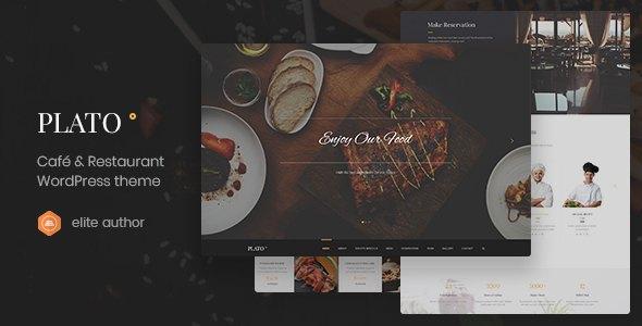 Plato | Cafe & Restaurant WordPress Theme        TFx Nic Elvis