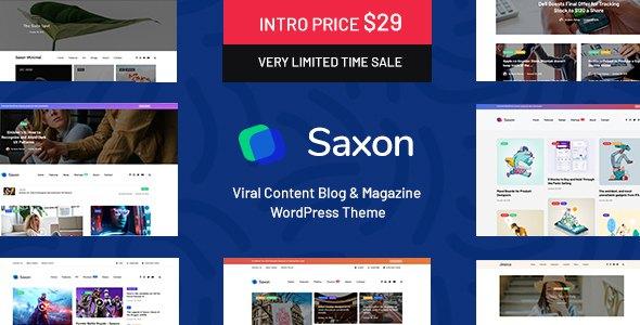 Saxon - Viral Content Blog & Magazine WordPress Theme        TFx Kirby Budi