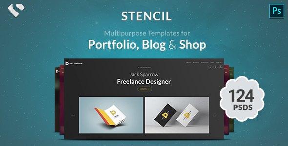 Stencil - Portfolio, Blogging & Shop        TFx Brant Bernie