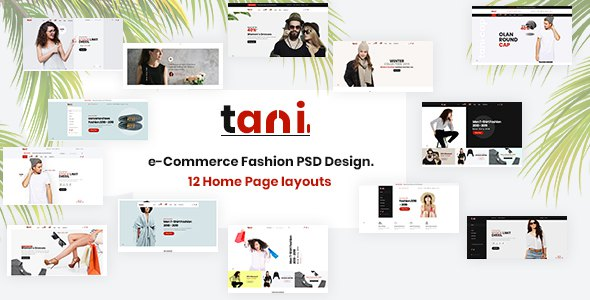 Tani - e-Commerce Fashion PSD Template        TFx Danny Vinnie