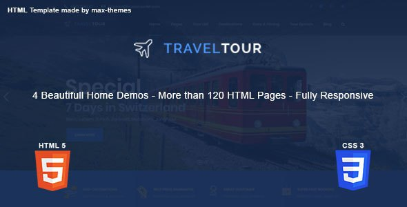 Travel Tour - Travel, Tour HTML Template        TFx Micah Charlemagne