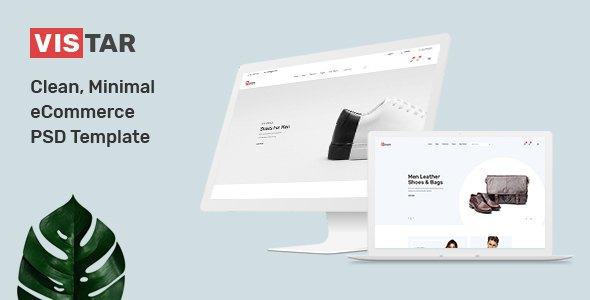Vistar - Clean, Minimal eCommerce PSD Template        TFx Kelly Ocean