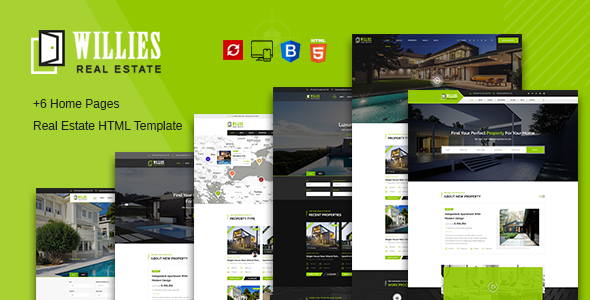 Willies - Real Estates HTML Template        TFx Rod Eli