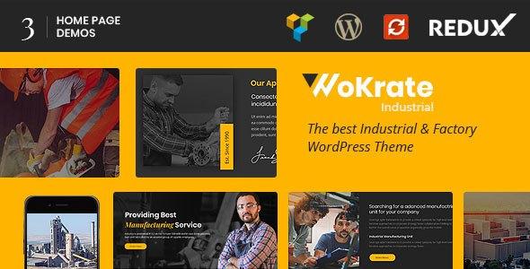 Wokrate – Industry, Factory & Engineering WordPress Theme        TFx Noah Montana