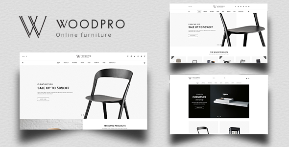 WoodPro - Modern Furniture & Interior Decor PrestaShop 1.7 Theme        TFx Elwood Brion