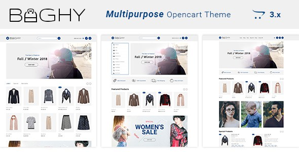 Baghy - Multipurpose Responsive Opencart 3 Theme        TFx Cade Brennan