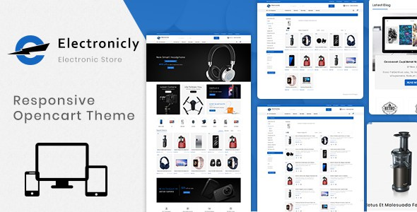 Electronically 3.0.X Opencart MultiPurpose Responsive Theme        TFx Masami Martial