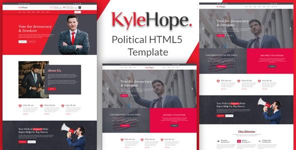 KyleHope - Political HTML5 Template        TFx Lalawethika Hildred