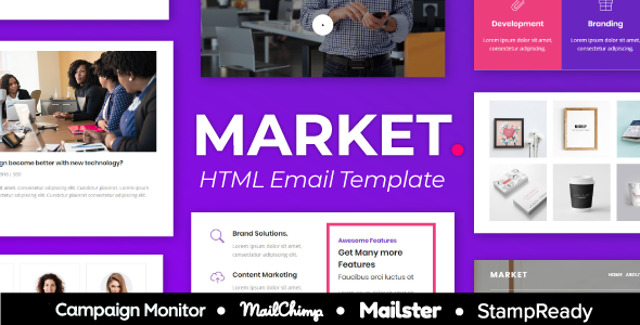 Market Agency - Multipurpose Responsive Email Template for Agency - StampReady + Mailster & Mailchim        TFx Aputsiaq Jaron