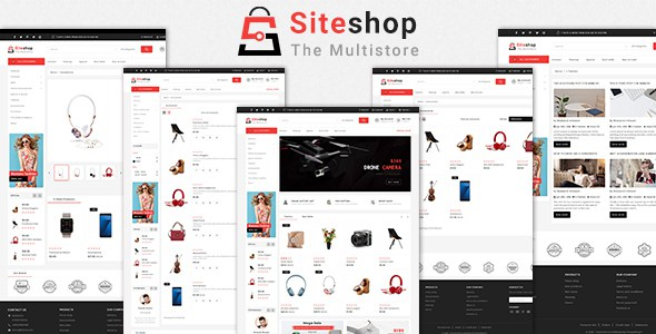 Siteshop 3.0.X Opencart MultiPurpose Responsive Theme        TFx Forrest Coleman