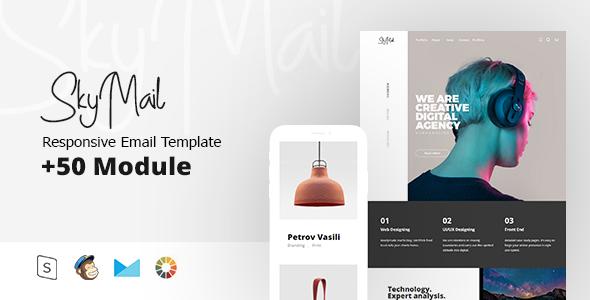 Sky Mail - Multipurpose Responsive        TFx Makoto Gevorg