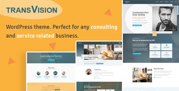 TransVision - Life Coaching & Consulting Theme        TFx Huey Barrett