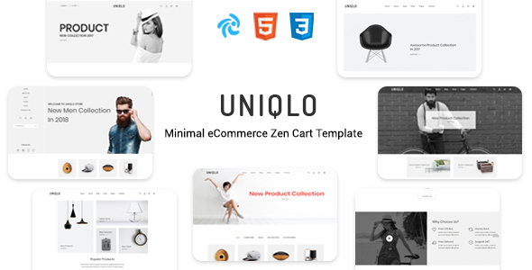Uniqlo - Responsive Zencart Theme        TFx Sammie Ubirajara