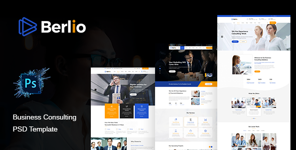 Berlio - Multipurpose Business PSD Template        TFx Kaleb Troy