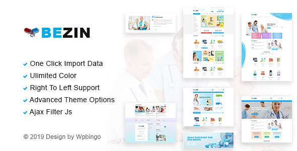Bezin – Pharmacy & Health WooCommerce Theme        TFx Cooper Gord