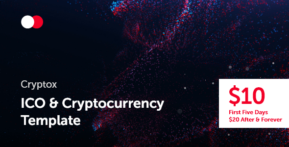 Cryptox — ICO & Cryptocurrency Template        TFx Winston Cooper