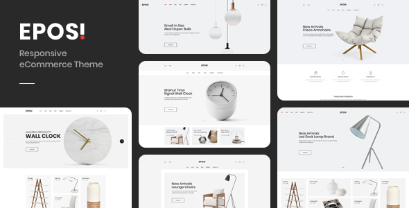 Eposi - OpenCart Theme (Included Color Swatches)        TFx Truman Moses