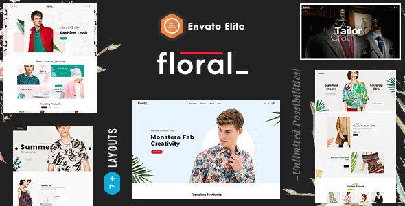 Floral - Opencart Multi-Purpose Responsive Theme        TFx Raymund Malakai