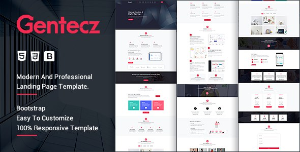 Gentacz - Responsive Multipurpose Template        TFx Gordon Philander