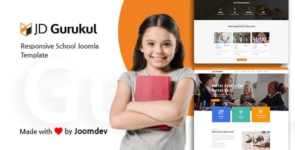 JD Gurukul - Responsive Joomla Template For School Websites        TFx Katsu Garegin