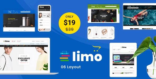 Limo - Multipurpose OpenCart 3 Theme        TFx Dylan Norris