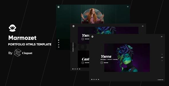 Marmozet - Portfolio Showcase HTML5 Template        TFx Biff Hugo