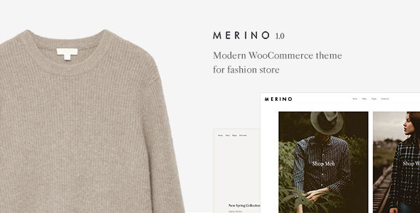 Merino | Modern WooCommerce shop theme for fashion store        TFx Fred Frank