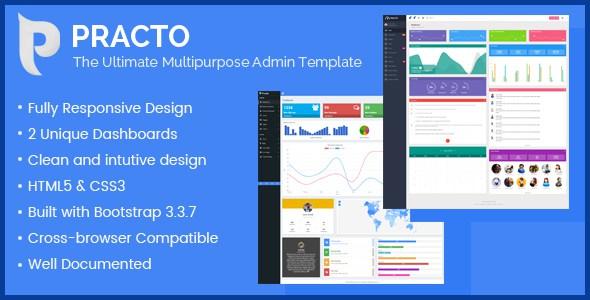 Practo - The Ultimate Multipurpose Admin Template        TFx Charles Saburou