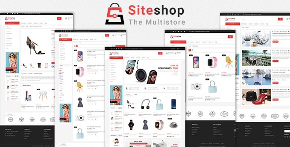 Siteshop Shopify MultiPurpose Responsive Theme        TFx Willoughby Lindon
