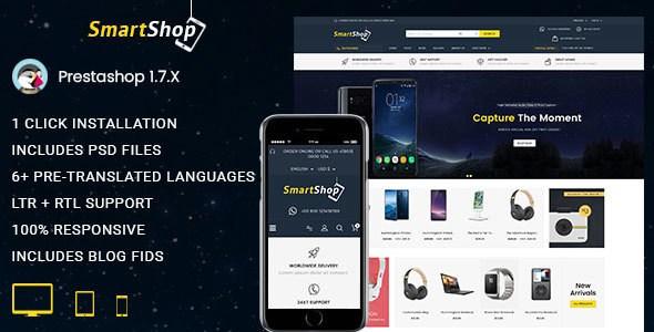 SmartShop - Multipurpose Opencart 3 Responsive Theme        TFx Goddard Kenshin