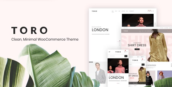 Toro - Clean, Minimal WooCommerce Theme        TFx Dion Christopher