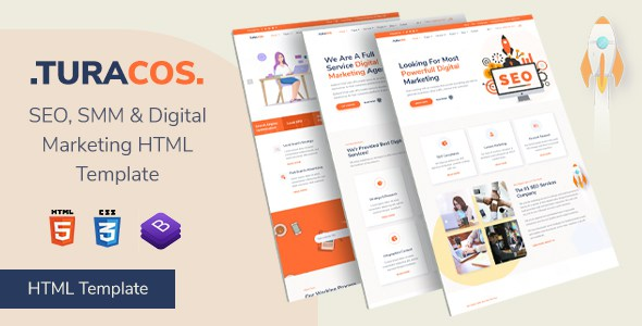 Turacos - Digital Agency/SEO Agency HTML Template        TFx Darcy Hudson