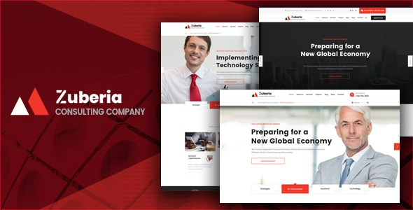 Zuberia - Business Consulting and Professional Services HTML Template        TFx Greyson Ehecatl
