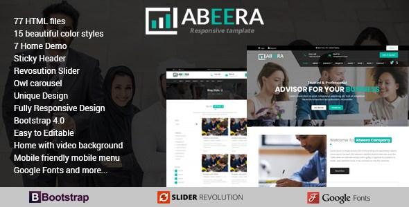 Abeera - HTML Responsive Multi-Purpose Template        TFx Nikolas Jaxson
