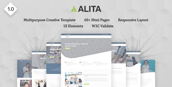 Alita - Responsive Multipurpose HTML Template        TFx Ocean Shouta