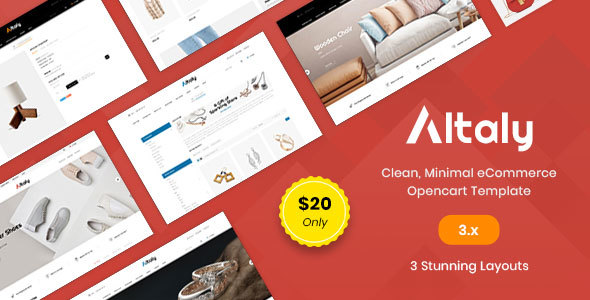 Altaly Multipurpose - Responsive Opencart 3.0 Theme        TFx Domitian Gregory