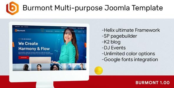 Burmont Multi-purpose Joomla Template        TFx Justinian Harlan