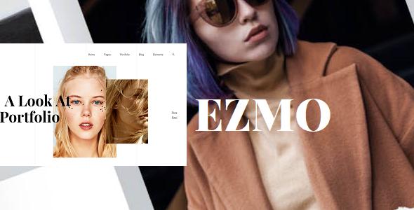 EZMO -  Personal Portfolio & Resume HTML5 Template        TFx Youta Onangwatgo