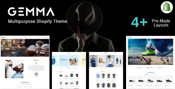 Gemma – Multipurpose Shopify Theme        TFx Branden Petros