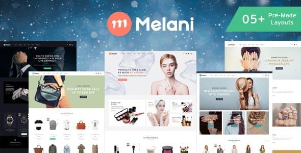 Melani - Multipurpose Shopify Theme        TFx Cayden Jess