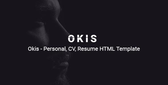 Okis - Personal CV Resume HTML Template        TFx Kristopher Pancras