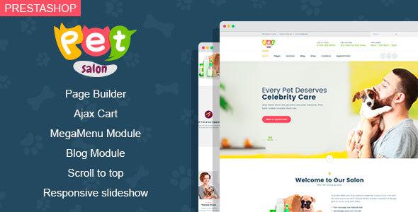Petspace - Goods for Pets Prestashop Theme        TFx Yuda Sunny